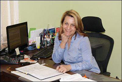 Agnieszka w biurze 5