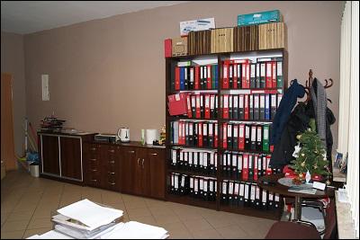 szafa w biurze